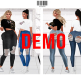 BOLD Distressed Jeans DEMO ::Kloss::