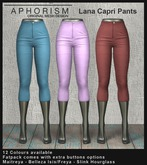 !APHORISM! Lana Capri Pants - DEMO