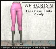 !APHORISM! Lana Capri Pants - Candy
