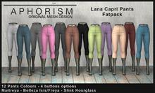 !APHORISM! Lana Capri Pants - Fatpack