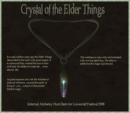 Crystal of the Elder Things/ By: Infernal Alchemy