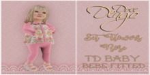 D:D set flowers rose/ td baby and bebe