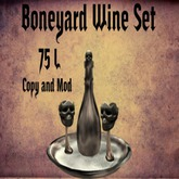 Boneyard Wine Set