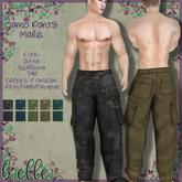 b[ELLE] Cargo Pants Male