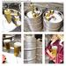 satus inc  backyard draft beer set silver details