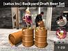 [satus Inc] Backyard Draft Beer Set Copper