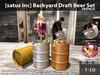 [satus Inc] Backyard Draft Beer Set Fatpack