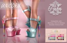 Bishes Inc UNICORN Shoes Color Hud Maitreya Belleza Slink Heels