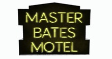 BUENO-Master Bates Motel Sign -Yellow