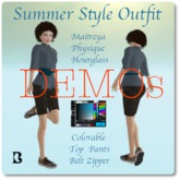 Blackburns Summer Style Outfit DEMO