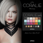 amias - CORALIE collar pack