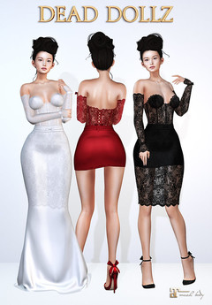 Dead Dollz -  Ava Multi Style Dress - Fatpack DEMO