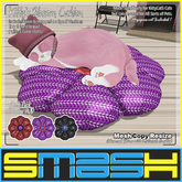 SMASH - Kitty's Blossom Cushion (Goth Pack) BOXED