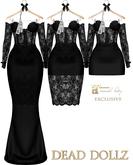 Dead Dollz -  Ava Multi Style Dress - Black