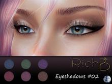 RichB. Eyeshadow #02 (Genus Head)