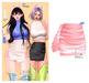 MIWAS / Freyja Leather Skirt #Pink