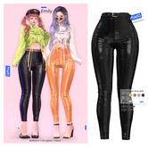 MIWAS / Emily Leather Pants #Black