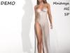 Shimmer white jessica demo