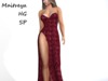 ~PP~ Red Ruby - Jessica Gown - Attach To Unpack