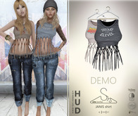 [sYs] JANIS shirt (fitted & body mesh) - DEMO