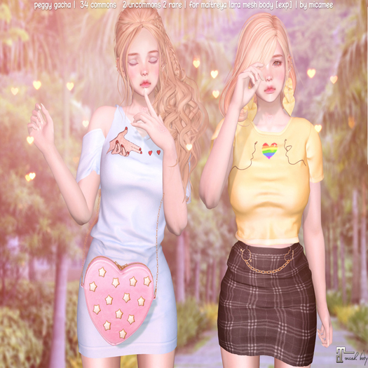 .micamee. Peggy GACHA - Dress M.Lara [Exp] - RARE 2