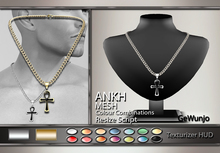 GeWunjo : ANKH male necklace
