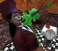 Mad Dancer's Violin by Voodoo!