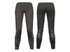 Mp main empty 1 leather bottom fabric top black leggings