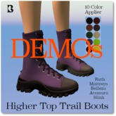 Blackburns Higher Top Trail Boots 6Sizes DEMO