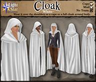 *LightStar - Cloak-White