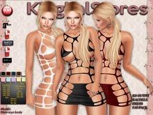 KS OUTFIT RACHELE DRESS FAT-PACK (Customize)