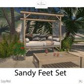 Bee Designs Sandy feet retreat Set  PG