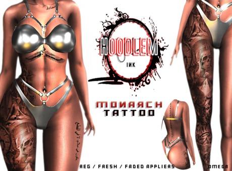 Hoodlem - Monarch Tattoo ( Legacy / Omega )