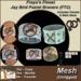 Freya's Finest Jay Bird Pastel Bracer Cuffs (Mesh) - Full Texture Change