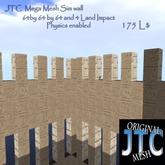 JTC Mega walls, corner