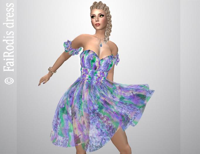 !!!Promo FaiRods Summer garden dress 3 pack  for all avatars