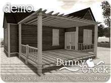.:.Bunny Creek.:. Alderley Linden Homes Deck DEMO