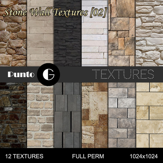 Stone Wall Textures [02]