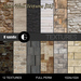 Stone wall textures 01