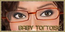 .:Glamorize:. Glasses in Baby Tortoise (Tortoiseshell)