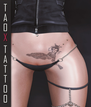 TAOX TaTToo Belly Geiko & BoM [ Bake on Mesh ] & Appliers Omega Legacy Signature Maitreya Slink Belleza