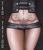 TAOX TaTToo Belly Sign Star & BoM [ Bake on Mesh ] & Appliers Omega Legacy Signature Maitreya Slink Belleza