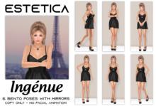 estetica: ingenue - 6 bento poses & mirrors