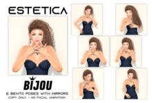 estetica: bijou - 6  bento poses & mirrors