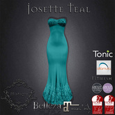 **Mistique** Josette Teal (wear me and click to unpack)