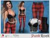 [ICEWERK] Punk Rock Outfit - PHYSIQUE, HOURGLASS, MAITREYA, BELLEZA