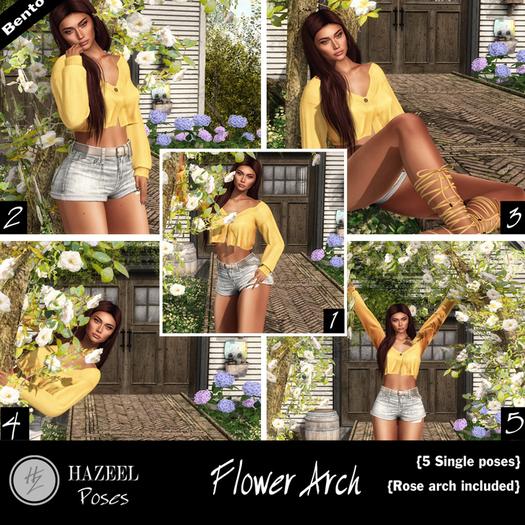 .::Hazeel::. Flower Arch ~Bento Poses
