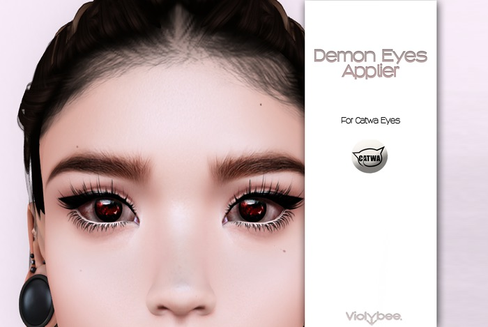 Violybee. Demon Eyes (Catwa Applier)