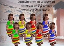 Tiny ioumane female minoan dress