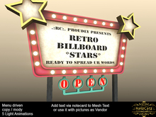 .: RatzCatz :. Retro Billboard *Star*  BOXED